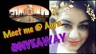 Win a Chance to MEET ME in Agra at Taj Mahal !! #GiveAway | JSuper Kaur