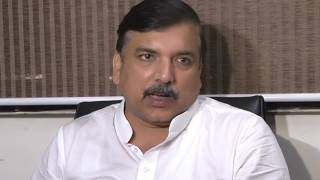 Aap Leader Sanjay Singh Briefs Media on Amarnath Yatra Attack