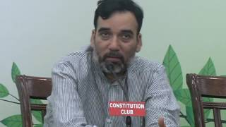 Aap Delhi Convenor Gopal Rai Addresses Volunteers on Environmental issue