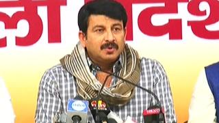 Kejriwal stopping MCD funds: Manoj Tiwari