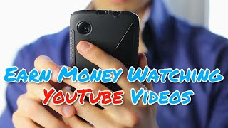 How to earn money watching YouTube Videos| Must Watch | TechNo Logic 2017