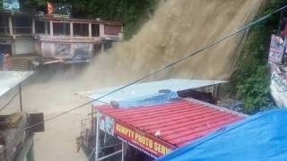 Kampty Fall Uttarakhand in Rainy Days