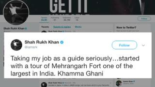 Harry' SRK turns REAL tour GUIDE