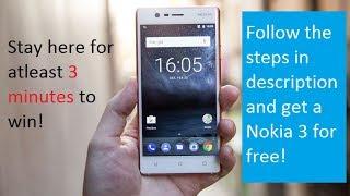 5 Nokia 3 Giveaways