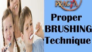 Proper Brushing Technique   Dr. Opinder Singh Thind (Dentist)
