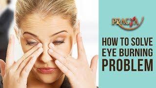 how to get rid of chlorine burning eyes