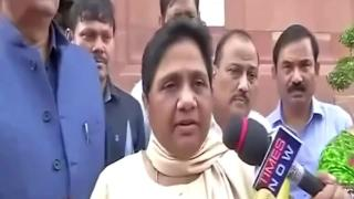 Mayawati accuses BJP of caste, religion-based politics