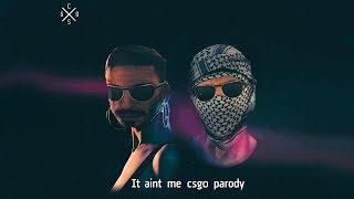 P90 Rush B - It Ain't Me CS:GO PARODY