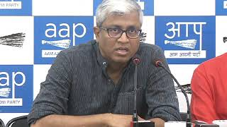 Aap Leaders Brief Media on the appointment of Governing Bodies in DU