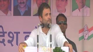 Rahul lashes out at Centre on farmers' issues