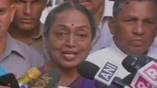 My battle for ideology doesn't end, it will continue: Meira Kumar