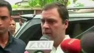 Modi ji aur NDA ki policies ne Jammu Kashmir ko jala diya hai : Congress Vice Pres Rahul Gandhi