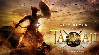 Taanaji - The Unsung Warrior First Look | Ajay Devgn Stars As Legendary Maratha Warrior