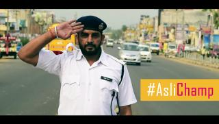 Saluting Indian Traffic Policepersons #AsliChamp