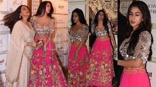 Sara Ali Khan Looks Stunning Sara Ali Khan Gives Tough Competition To Bollywood Actress
