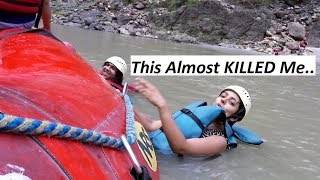 This Almost KILLED Me   Rishikesh River Rafting   Varsha Vlogs Part - 3
