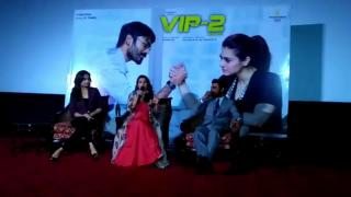 "Kajol REVEALED , Dhanush lied to her about ""VIP 2"""