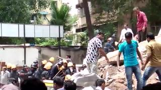 Many trapped in Mumbai building collapse