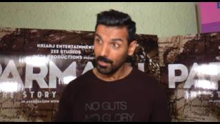John Abraham On His Upcoming Film | Parmanu The Story Of Pokhran | John Abraham Interview