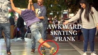 Awkward Skate Falls Infront of People | Pranks in India