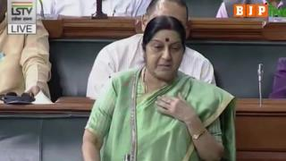 No evidence 39 Indians are dead, search to continue: Sushma