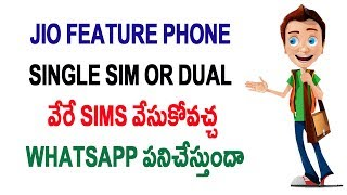 JioPhone is a single SIM feature phone: Everything you need to know Telugu