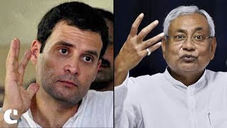 'People will do anything for Selfish gains' : Rahul Gandhi on Nitish Kumar