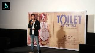 Akshay Kumar Full Speech | Toilet Ek Prem Katha Press Conference