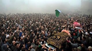 Hizb militants laid to rest amid azadi slogans in Bijbehara