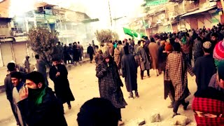 Pulwama youth defy curfew; Massive protests & clashes continue