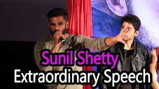 The Rally Movie Trailer Launch by Suniel Shetty || Sunil Shetty Extraordinary Speech