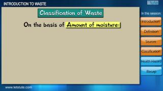 Introduction to Waste | Letstute