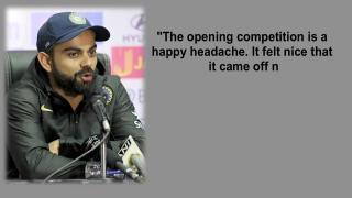 Kohli credits Dhawan, Mukund for 'clinical' win vs Sri Lanka