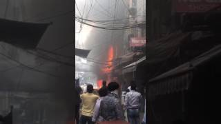 Fire broke in Gaffer market