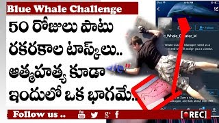 young death game in india I blue whale challenge the killer game in online I rectv india