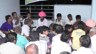 में अर्ज करू  गुरु थाने  सिंगर सीरवी भेराराम सेणचा भगत भजन मंडली हैदराबाद
