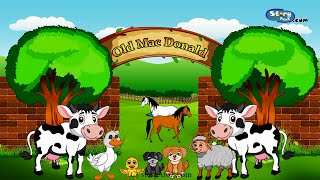 Old Macdonald Had a Farm - Animated Nursery Rhymes - English Animated Stories For Kids