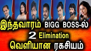 BIGG BOSS-ல் இந்தவாரம் 2 Elimination|Big Boss 08th August 2017|Promo|Vijay Tv|Bigg Boss Tamil