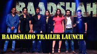 Baadshaho Trailer Launch | Ajay Devgn | Ileana D'Cruz | Emraan Hashmi | Vidyut Jammwal Part 1