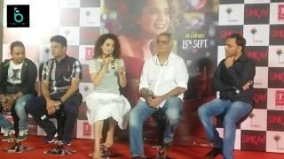 SIMRAN Official Trailer Launch   Kangana Ranaut   Hansal Mehta Film   15th September 2017
