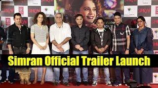 Simran Trailer Launch | Kangana Ranaut, Hansal Mehta, Bhushan Kumar, Tseries