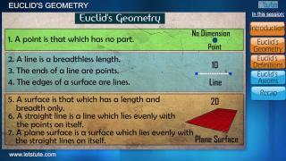 Euclid's Geometry- Part 1 | Letstute