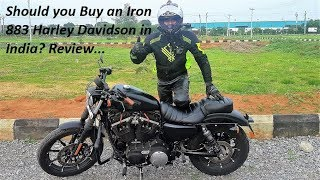 Should you Buy an Iron 883 Harley Davidson in India? Review. Part 2.