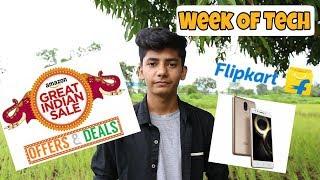 Amazon and Flipkart Sale l Lenovo K8 note l Moto X4 l Week Of Tech!