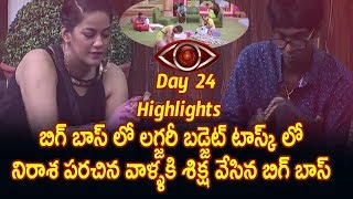 BIGGBOSS Telugu Episode 24 HIGHLIGHTS | Star maa : Episode 25 : Big boss punishes House mates