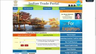 About Indian Trade Portal