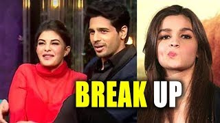OMG! Real reason Behind Alia Bhatt & Sidharth Malhotra's BREAK UP Jacqueline Fernandez Is Blamed