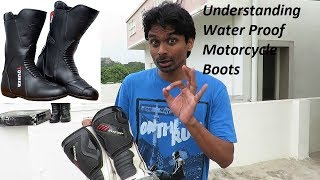 Best Water Proof Motorcycle Boots for Touring.