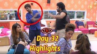 Bigboss telugu Day 32 Highlights : Starmaa : Big Boss Episode 33 :Shiva Balaji Beating Dhanraj