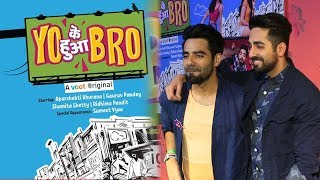 Aparshakti Khurana At Yo Ke Hua Bro Web Series Premiere Bollywood Bhaijan